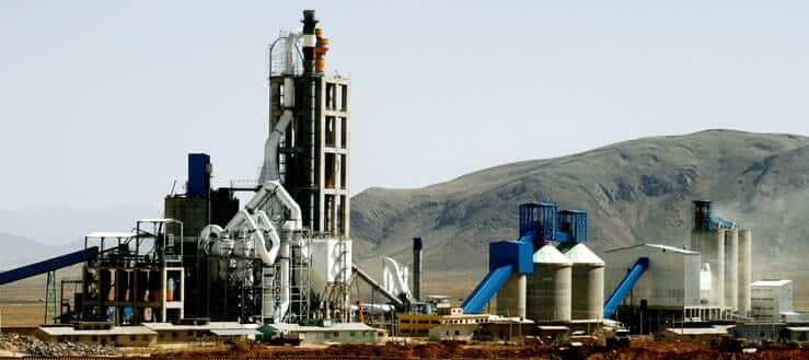 صنایع تولید سیمان